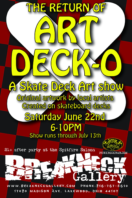 ART DECK-O, June 22nd