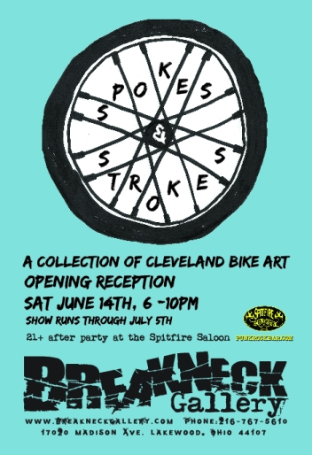 Bike show flyer